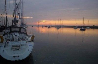 Piranha-sunset